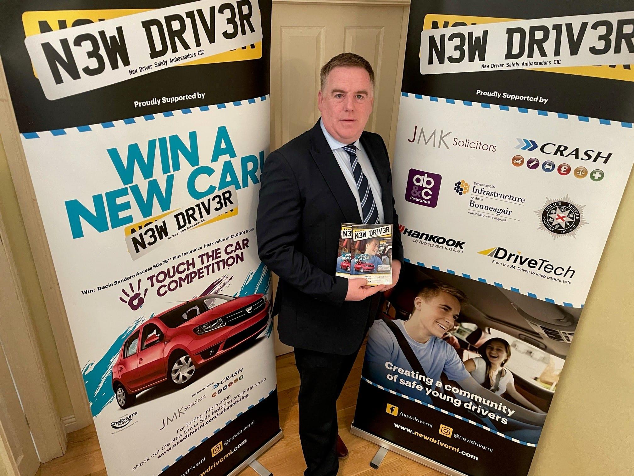 Stephen Savage New Driver